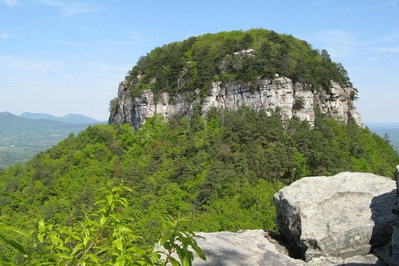 Big Pinnacle, Pilot Mountain State Park, Surry County Yadkin Valley NC