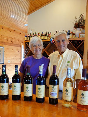 Early Mornings & Hard Work Equal Continued Success at NC's First Organic Vineyard