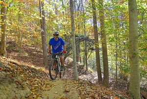 Secluded Urban Mountain Bike Trail Debuts in Elkin