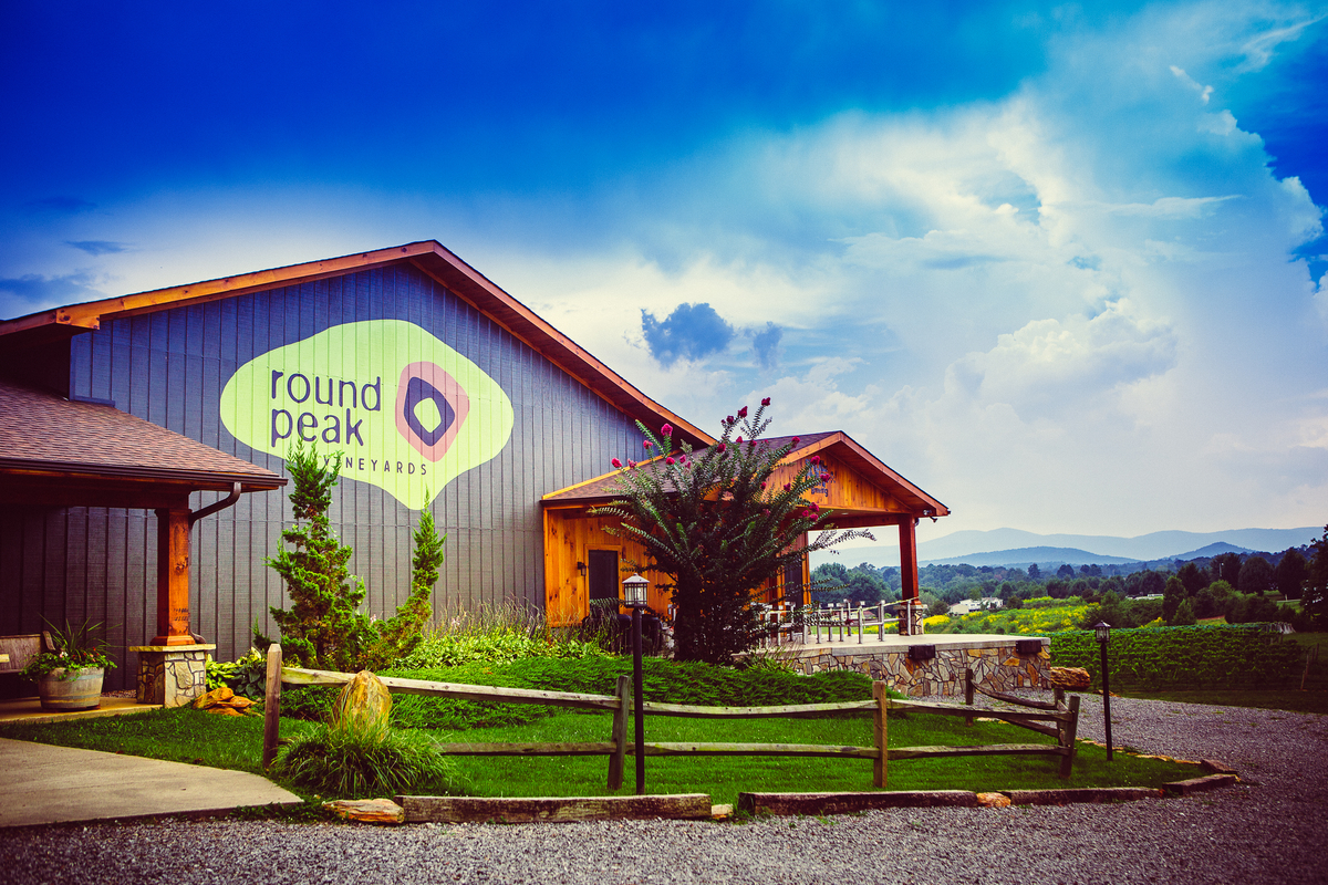 Round Peak Vineyards for the Yadkin Valley Winter Wine Passport 2017 - 2018