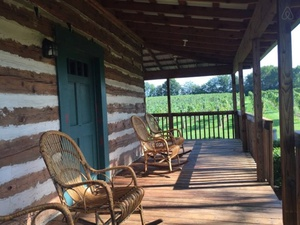 The Tobacco Cabin at Hidden Vineyard